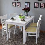 Những bộ bàn ăn hiện đại hấp dẫn mọi ánh nhìn