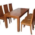 Bộ bàn ăn 6 ghế phù hợp không gian nào?