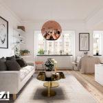 Ý tưởng thiết kế nội thất chung cư nhỏ độc đáo năm 2020