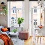 Cách sắp xếp đồ nội thất phòng khách chung cư 20m2